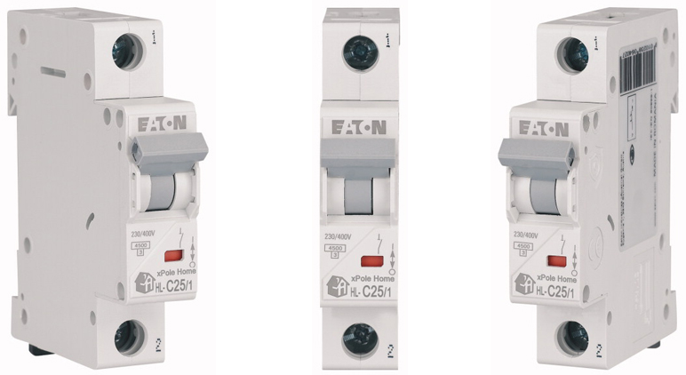Модульный автоматический выключатель HL-C25/1 в Украине – фото 2