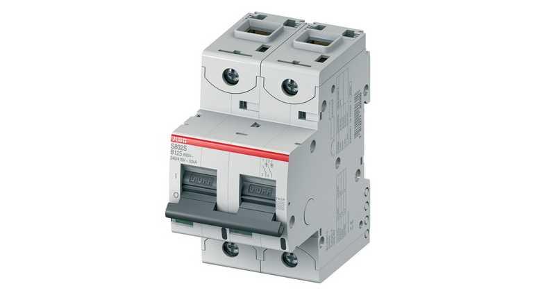 Автоматический выключатель серии S800, 2P, 50 A в Украине – фото 1