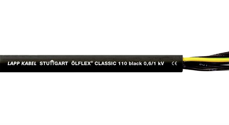 Кабель управления ОLFLEX CLASSIC 110 BLACK 0,6 / 1 кВ в Украине – фото 1