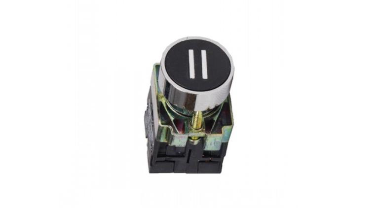 Кнопка управления NP2, с маркировкой, черная в Украине – фото 1