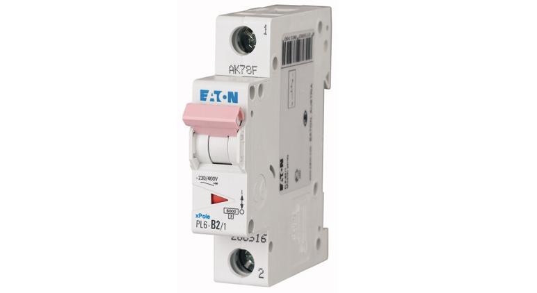 Модульный автоматический выключатель PL6-C16/1 в Украине – фото 2