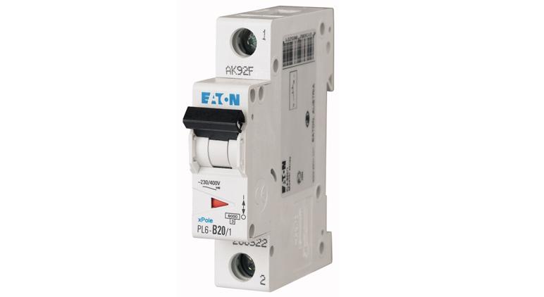 Модульный автоматический выключатель PL6-C20/1 в Украине – фото 2
