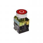 Кнопка управления NP2, с маркировкой, красная в Украине – фото 3